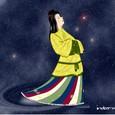 満天の星空に故郷の大陸を思う織姫