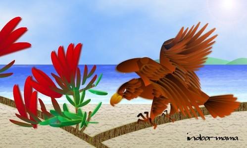 風に乗り鳥とともに海を渡れ