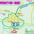 会津若松城下の戦い・関係図