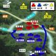 姉川の合戦・布陣図