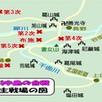 川中島の合戦・主戦場