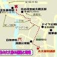 大久保利通・暗殺の関係地図