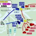 大坂冬の陣~鴫野・今福の戦いの布陣図