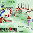関ヶ原の合戦・裏布陣図
