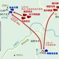 信貴山城の戦い・関係図