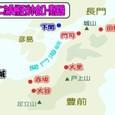第二次長州征伐・小倉口の戦い関係図