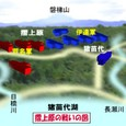 摺上原の戦い・合戦図