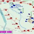 鳥取城攻防戦・布陣図