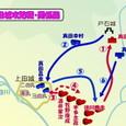 第2次・上田城の戦い・関係図