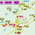 壬申の乱・大和の戦いの関係図