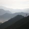 雲海に浮かぶ竹田城跡