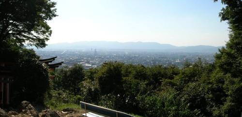 伏見稲荷・稲荷山からの景色