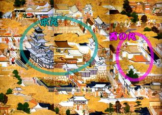 豊臣期大坂図屏風(エッゲンベルグ城)